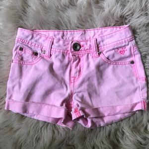 Barely worn girls justice jeans
